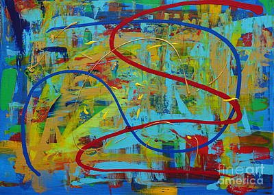 Painting - Abstract 2_untitled by Jimmy Clark