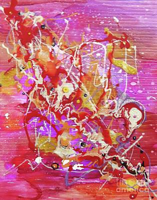 Mixed Media - Abstract 304 by Desiree Paquette