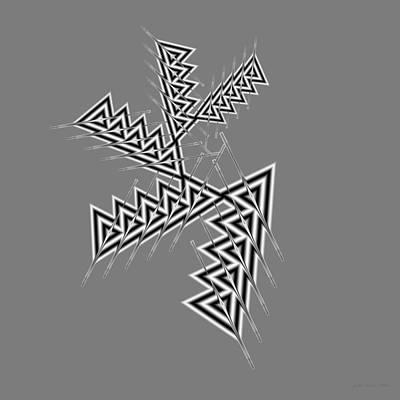Digital Art - Abstract 390 by Judi Suni Hall