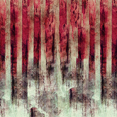 Abstract Seascape Digital Art - Abstract 4/16 by Filippo B