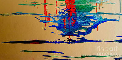 Painting - Abstract 4 by Fred Wilson