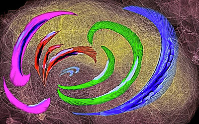 Digital Art - Abstract 4 #h1 by Leif Sohlman