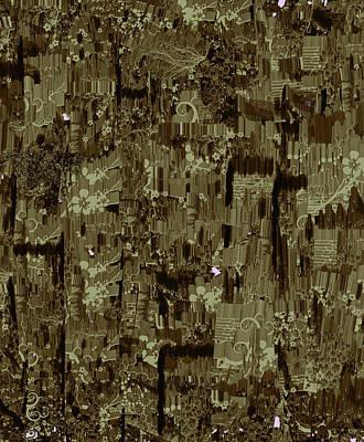 Digital Art - Abstract 4 by Janet Duffey