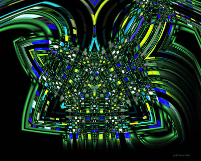 Digital Art - Abstract 401 by Judi Suni Hall