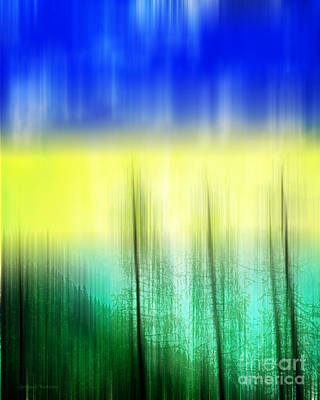 Abstract Digital Art Mixed Media - Abstract 43 by Gerlinde Keating - Galleria GK Keating Associates Inc