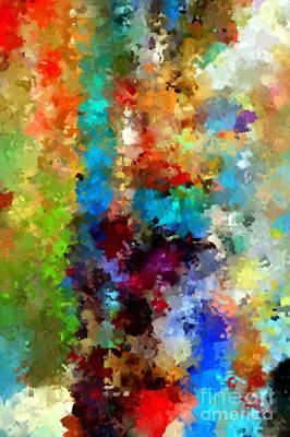 Digital Art - Abstract 457a by Rafael Salazar