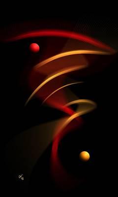 Digital Art - Abstract 46 by John Wills