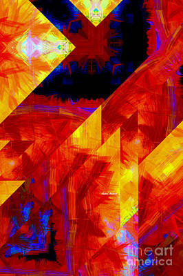 Digital Art - Abstract 471 by Rafael Salazar