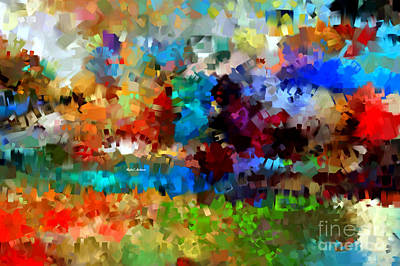 Digital Art - Abstract 477 by Rafael Salazar
