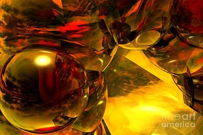 Digital Art - Abstract 5-21-09 by David Lane