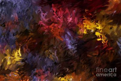 Abstract 5-23-09 Print by David Lane