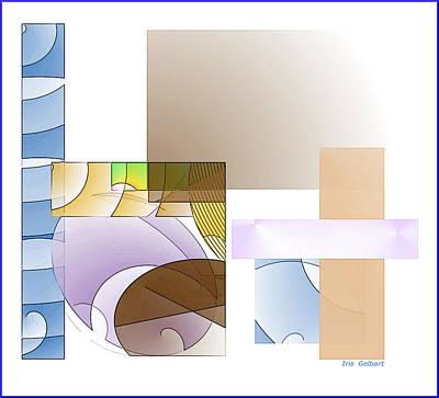 Digital Art - Abstract #503 by Iris Gelbart