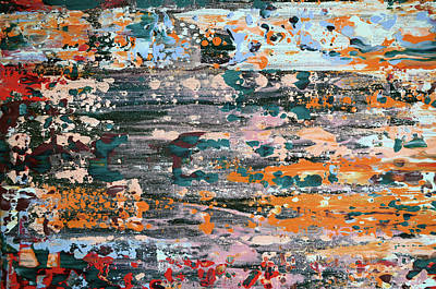 Painting - Abstract 56 by Jakub DK