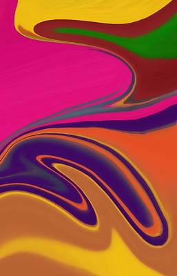 Red Abstract Digital Art - Abstract 6 by Art Spectrum
