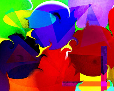 Abstract 6 Art Print by Timothy Bulone