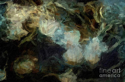 Digital Art - Abstract 64 Digital Oil Painting On Canvas Full Of Texture And Brig by Amy Cicconi