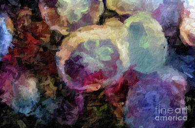 Digital Art - Abstract 65 Digital Oil Painting On Canvas Full Of Texture And Brig by Amy Cicconi