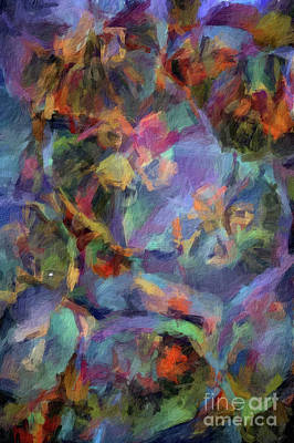 Digital Art - Abstract 72 Digital Oil Painting On Canvas Full Of Texture And Brig by Amy Cicconi
