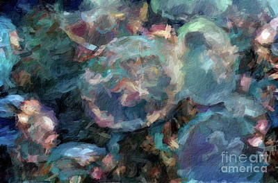 Digital Art - Abstract 75 Digital Oil Painting On Canvas Full Of Texture And Brig by Amy Cicconi