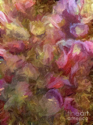 Digital Art - Abstract 76 Digital Oil Painting On Canvas Full Of Texture And Brig by Amy Cicconi