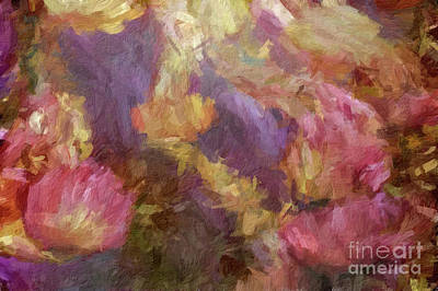 Digital Art - Abstract 77 Digital Oil Painting On Canvas Full Of Texture And Brig by Amy Cicconi