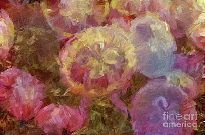 Digital Art - Abstract 78 Digital Oil Painting On Canvas Full Of Texture And Brig by Amy Cicconi