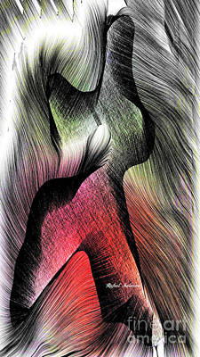 Art Print featuring the digital art Abstract 785 by Rafael Salazar