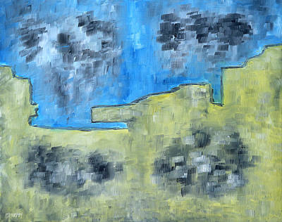 Murphy Painting - Abstract 795 by Patrick J Murphy