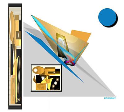Digital Art - Abstract #803 by Iris Gelbart