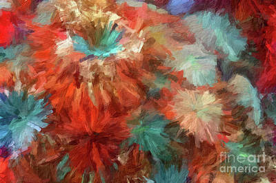 Digital Art - Abstract 81 Digital Oil Painting On Canvas Full Of Texture And Brig by Amy Cicconi