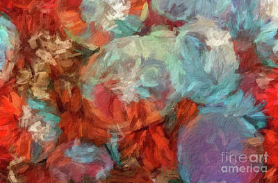 Digital Art - Abstract 82 Digital Oil Painting On Canvas Full Of Texture And Brig by Amy Cicconi