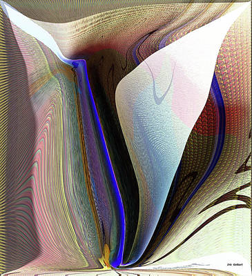 Digital Art - Abstract #82 by Iris Gelbart
