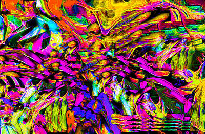 Digital Art - Abstract 837 by Phillip Mossbarger