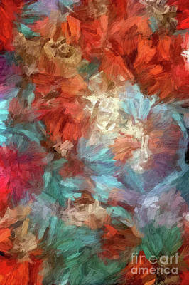 Digital Art - Abstract 86 Digital Oil Painting On Canvas Full Of Texture And Brig by Amy Cicconi