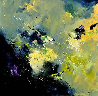 Abstract 8821603 Print by Pol Ledent