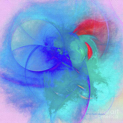 Digital Art - Abstract 9 by Deborah Benoit