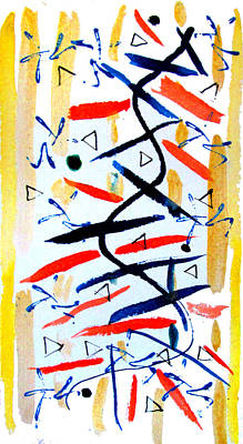 Mixed Media - Abstract 97 by Timothy Bulone