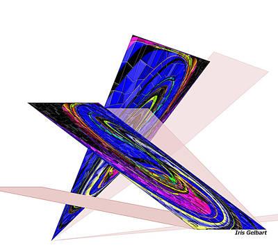Digital Art - Abstract #99 by Iris Gelbart