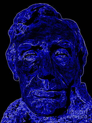 Digital Art - Abstract Abraham by Ed Weidman
