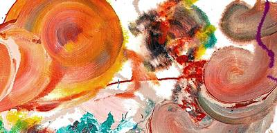 Abstract Acrylic Painting Picture Art Print