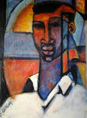 Painting - Abstract African by Barbara Lemley