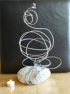 Abstract Aluminum Art Print by Live Wire Spirit
