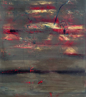 Baselitz Painting - Abstract America   by Antonio Ortiz