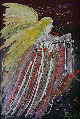 Painting - Abstract Angel by Alma Yamazaki