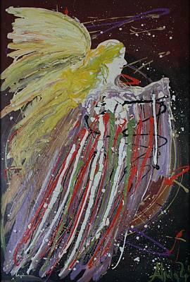Painting - Abstract Angel by Alma Yamazaki