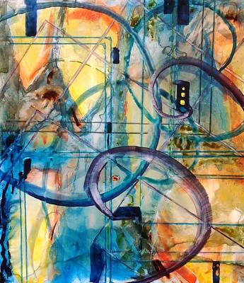 Painting - Abstract Appeal by Kim Shuckhart Gunns