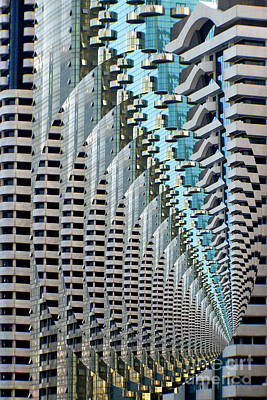 Lines Photograph - Abstract Architecture-dubai 7 by Scott Cameron