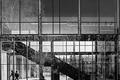 Photograph - Abstract Architecture - Utm Mississauga by Shankar Adiseshan