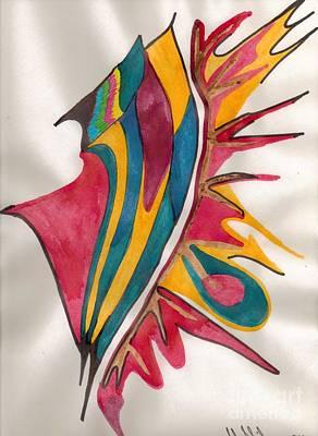 Abstract Art 102 Art Print