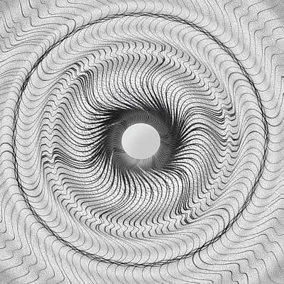 Op Art Photograph - Abstract Art 5 by Eleanor Bortnick